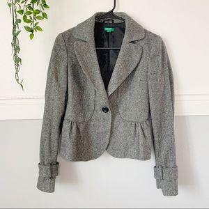 Women's United Colors of Benetton Wool Blazer